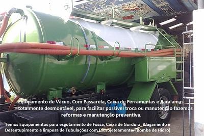 Fabricação de Tanque Limpa Fossa
